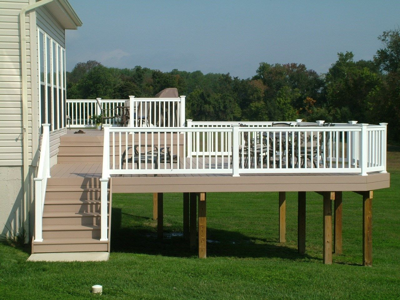 Custom Deck in Cream Ridge NJ - Picture 3361
