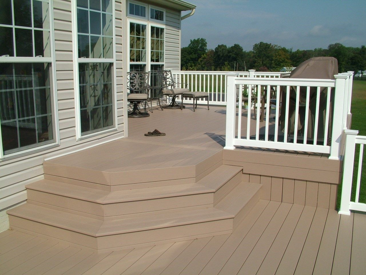 Custom Deck in Cream Ridge NJ - Picture 3365