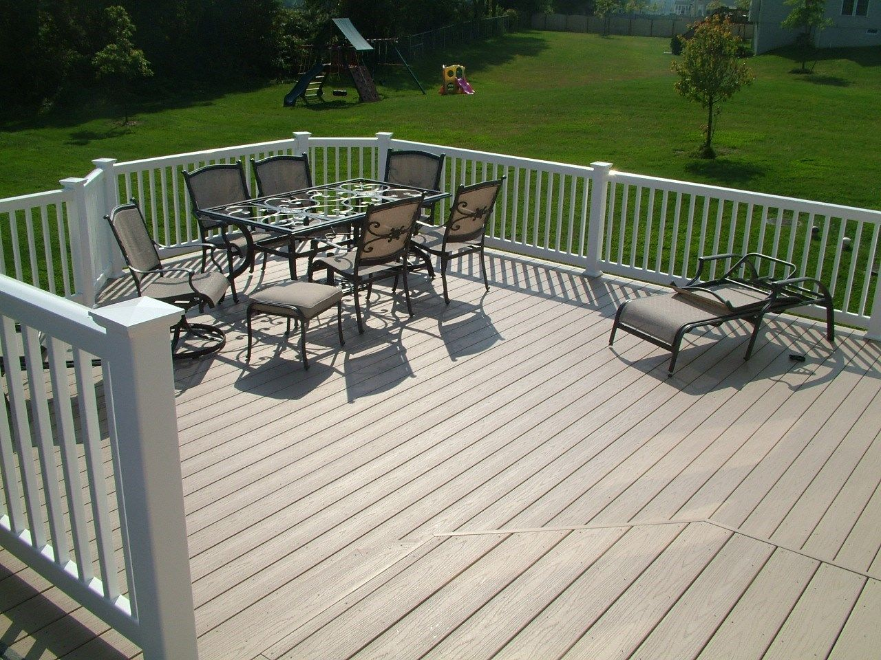 Custom Deck in Cream Ridge NJ - Picture 3366