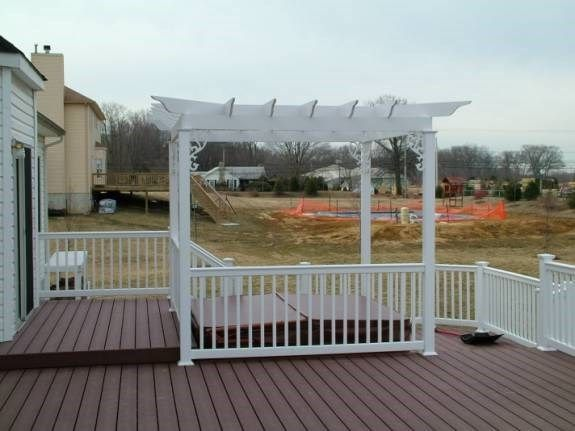 Custom Gazebo deck in Allentown NJ - Picture 3369