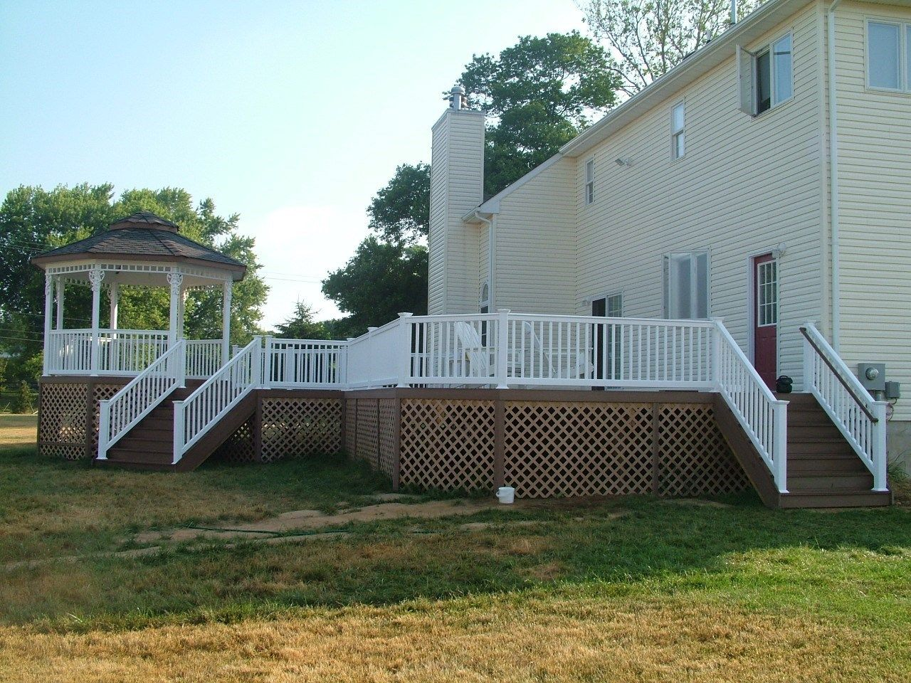 Custom Gazebo deck in Millstone NJ - Picture 3370