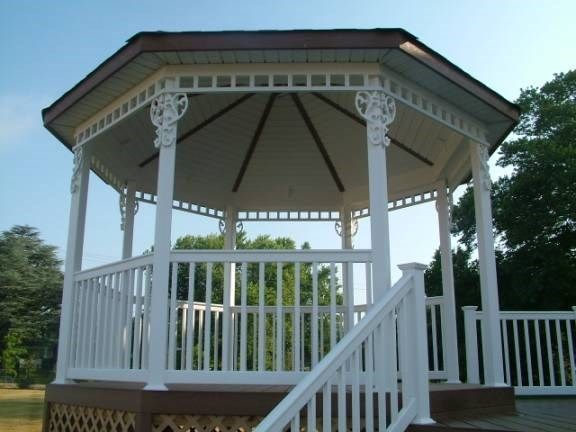 Custom Gazebo deck in Millstone NJ - Picture 3373