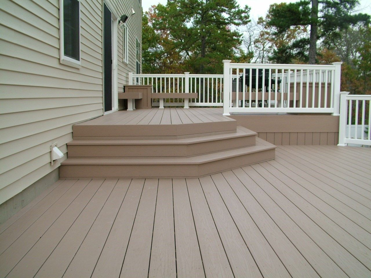 Custom Deck in Marlboro N.J. - Picture 3388
