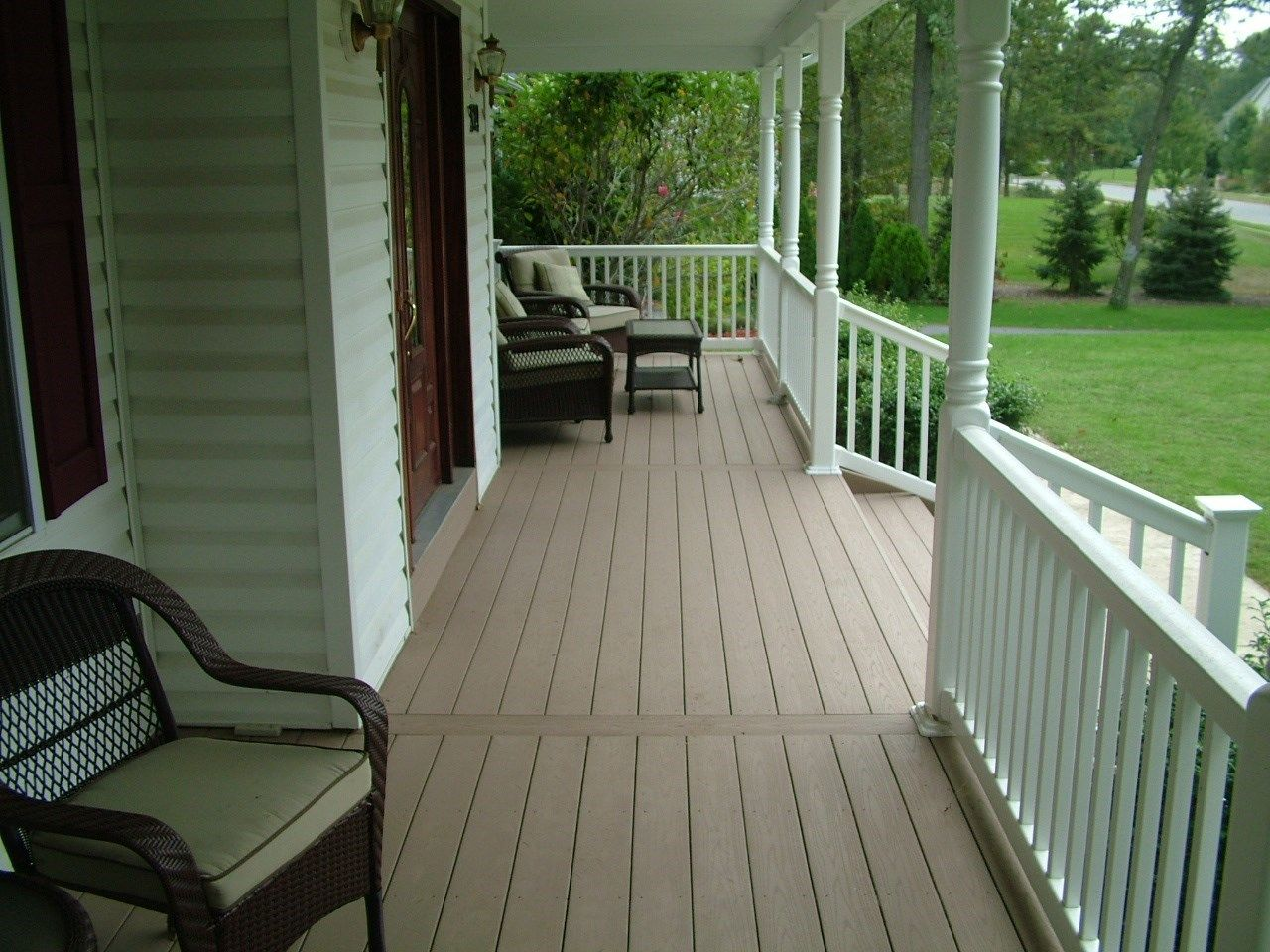 Remolded Porch deck in Plumstead NJ. - Picture 3392