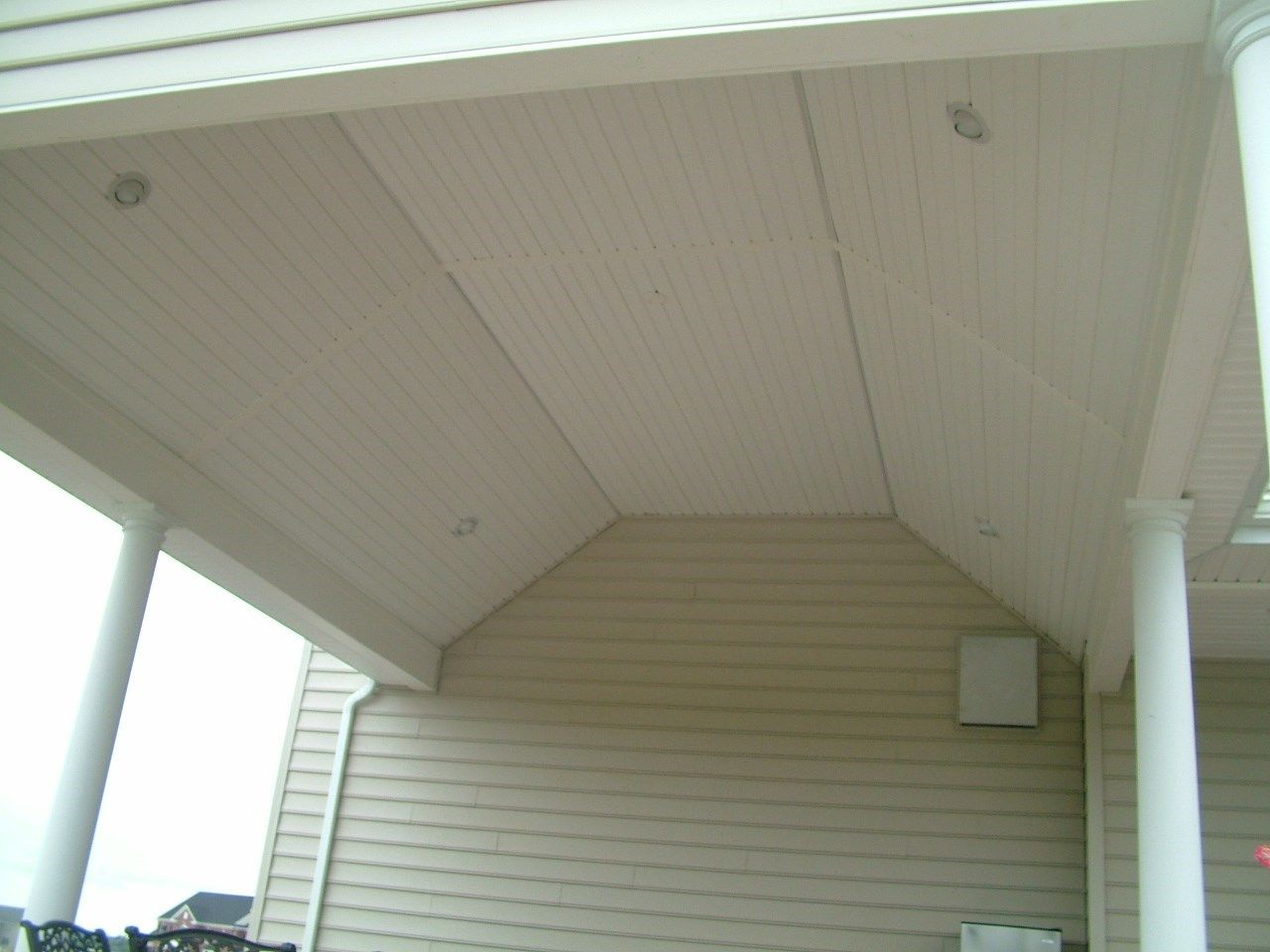 Roof over Paver Patio in Upper Freehold NJ - Picture 3397