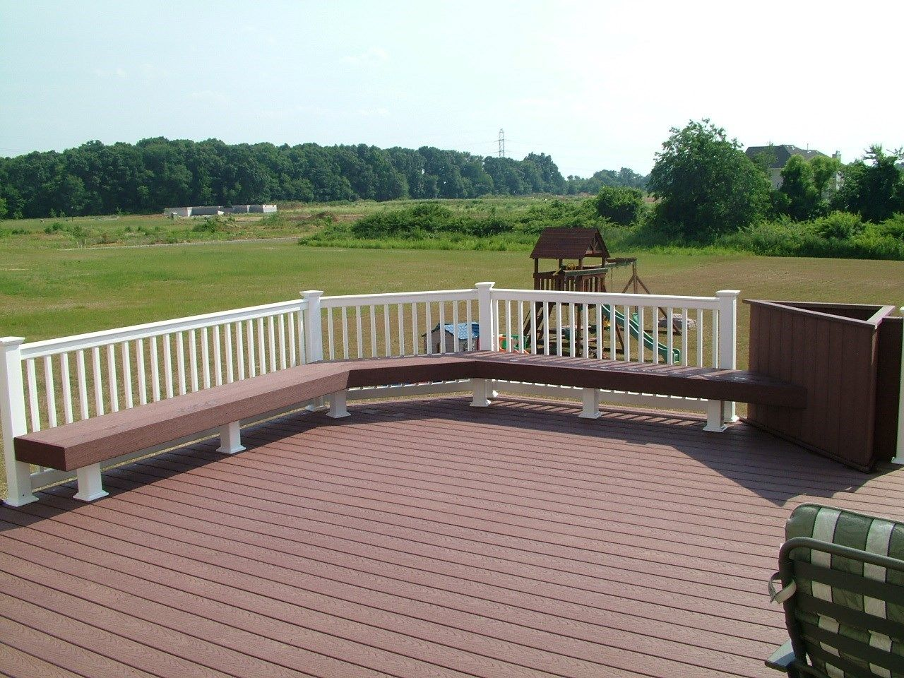 Custom Gazebo deck in Millstone NJ - Picture 3399