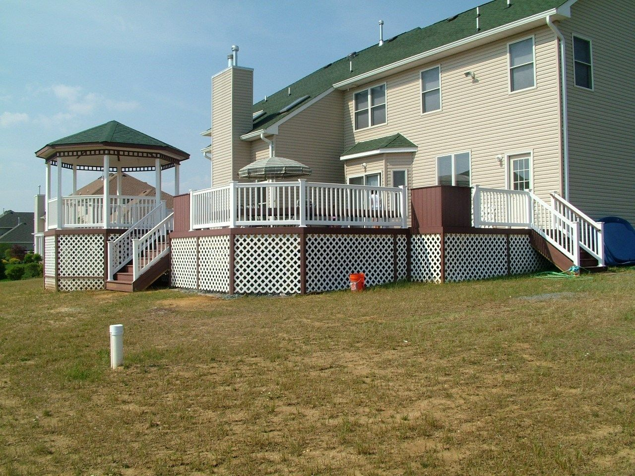 Custom Gazebo deck in Millstone NJ - Picture 3401