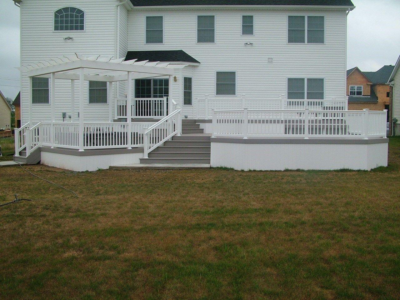 Custom Deck in Monroe NJ - Picture 3405