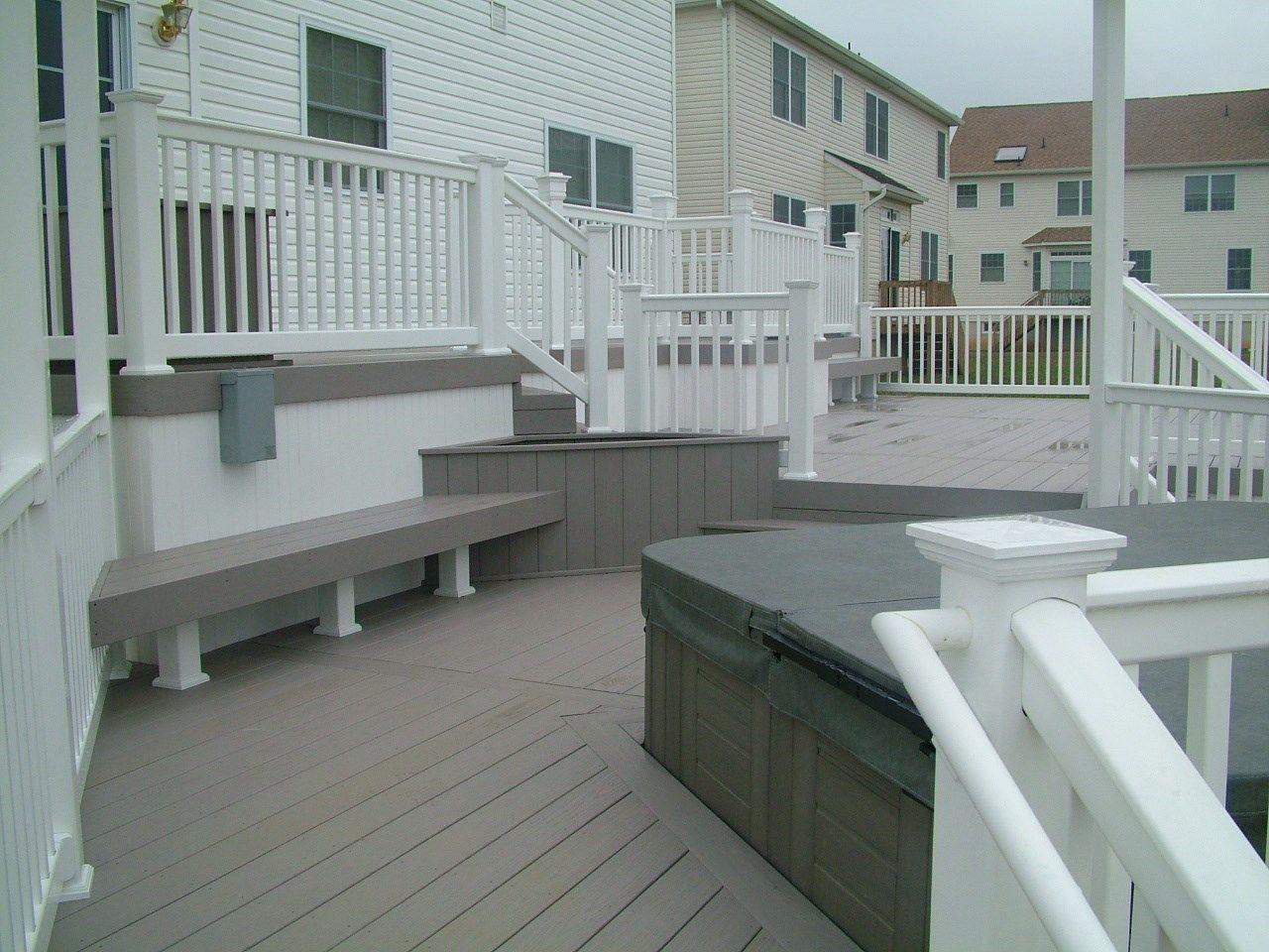 Custom Deck in Monroe NJ - Picture 3407