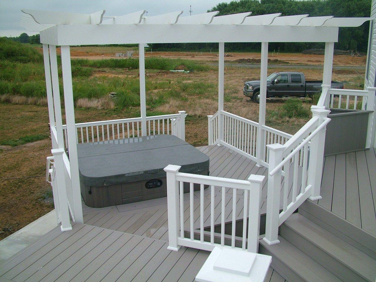 Custom Deck in Monroe NJ - Picture 3408