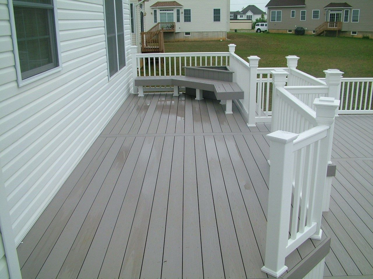 Custom Deck in Monroe NJ - Picture 3409