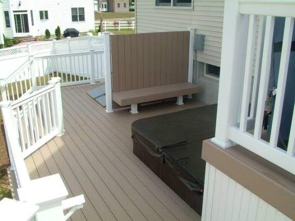 Custom Deck in Marlboro NJ - Picture 3414