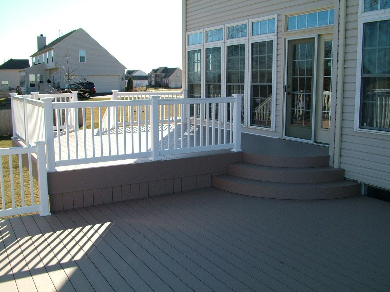 Custom Deck in Upper Freehold NJ - Picture 3418