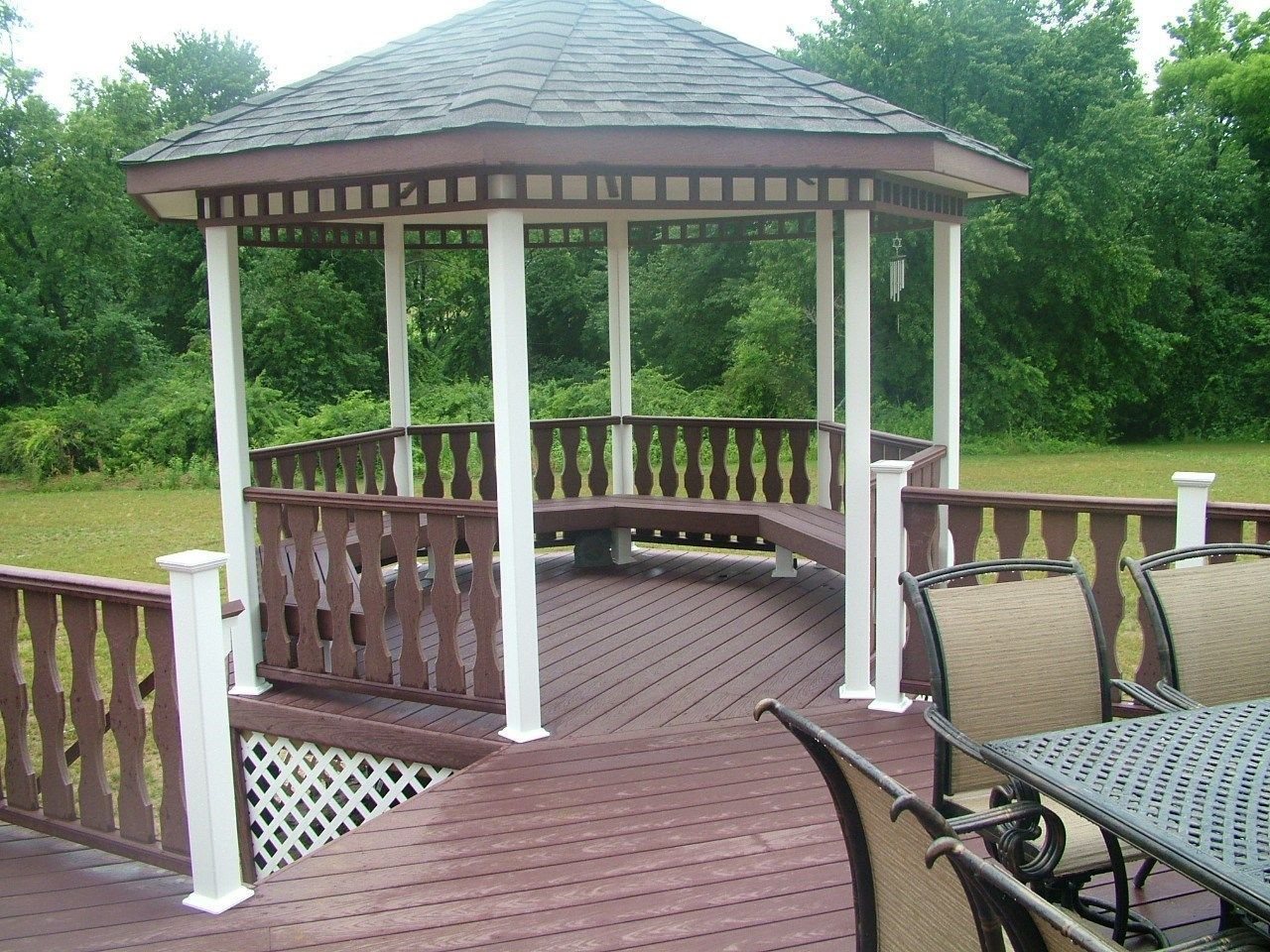 Custom Gazebo deck in Millstone NJ - Picture 3424