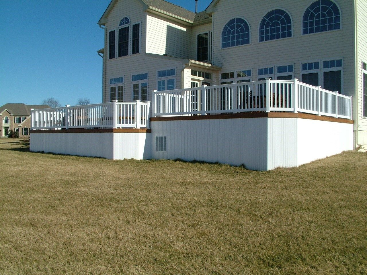 Custom Deck in Upper Freehold NJ - Picture 3427