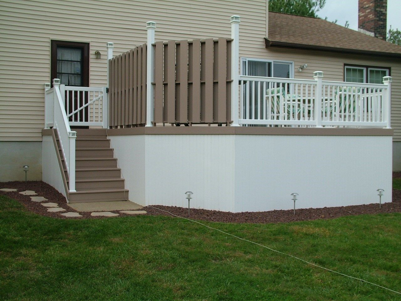 Custom Deck in Manalapan N.J. - Picture 3433