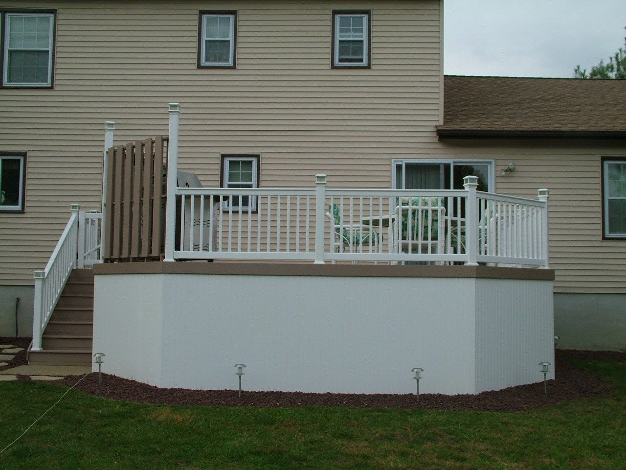 Custom Deck in Manalapan N.J. - Picture 3436