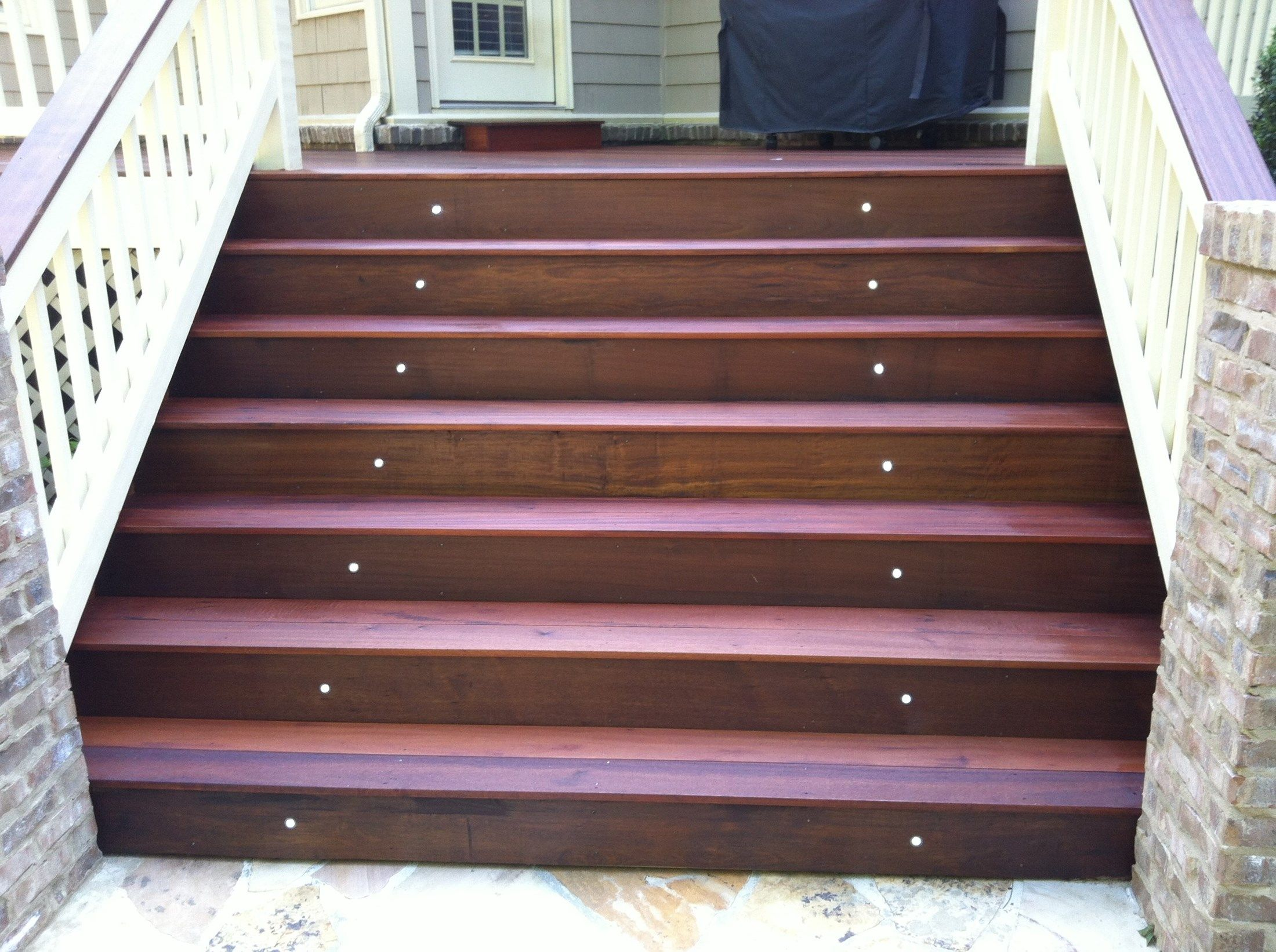 The look of tiger wood decking - Picture 3478