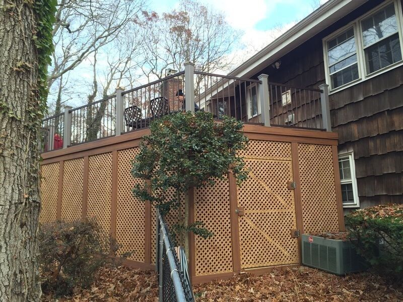 Deck in Dix Hills, NY - Picture 3488
