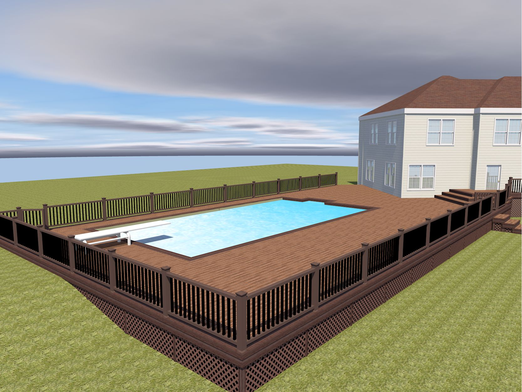 Trex Deck in East Hampton, NY - Picture 3495