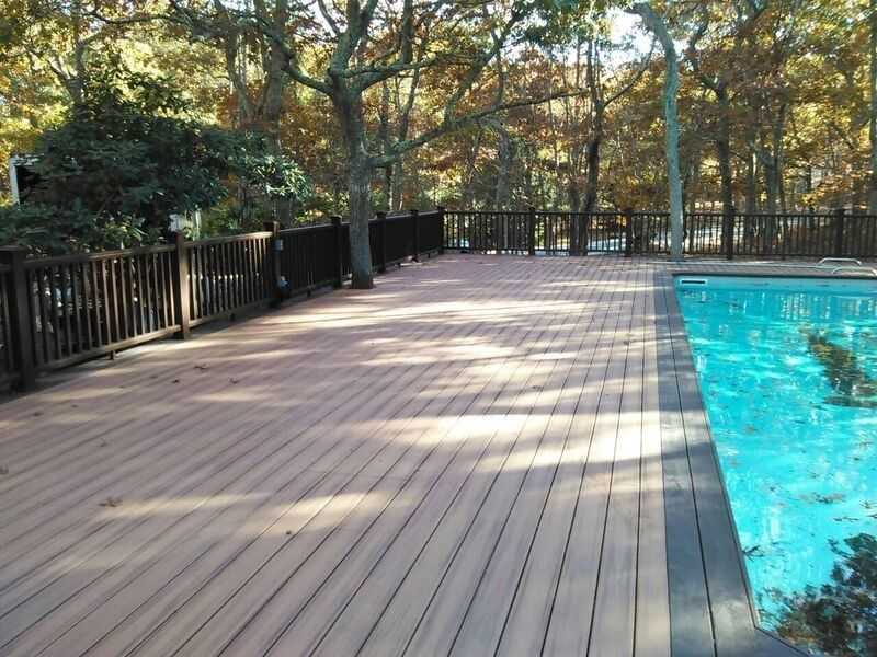 Trex Deck in East Hampton, NY - Picture 3503