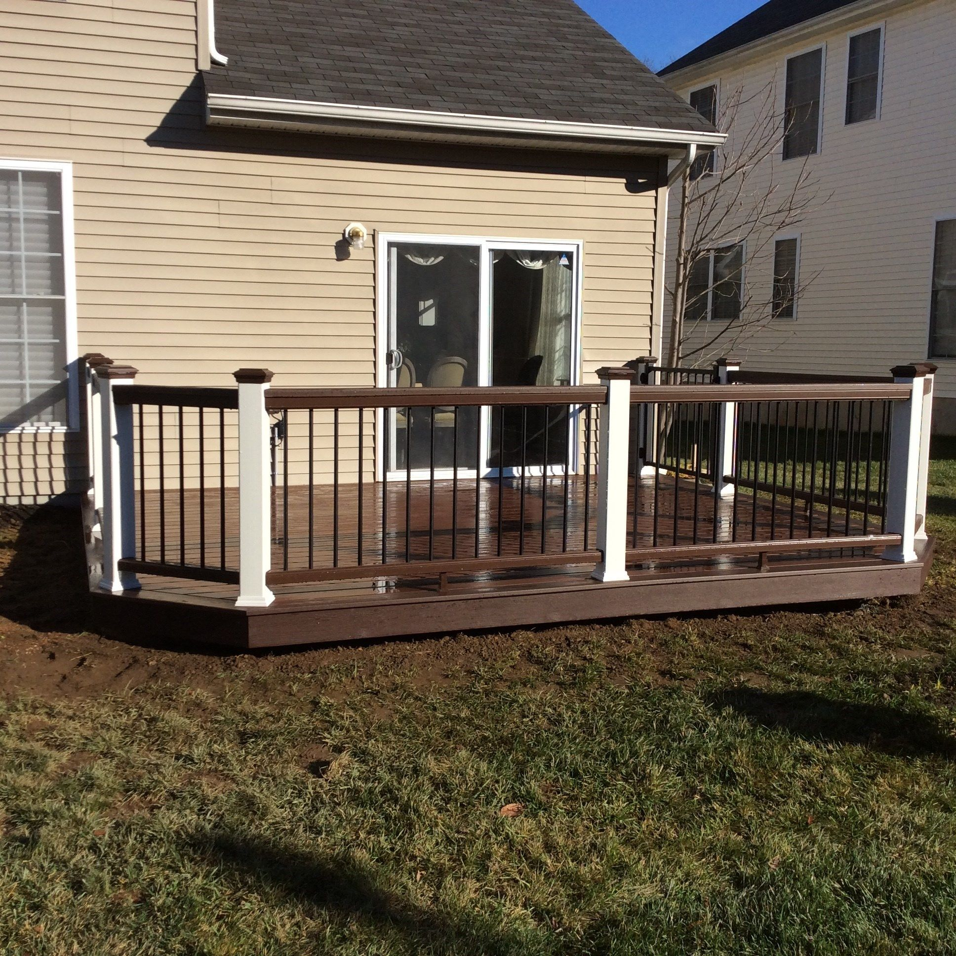 Custom Deck in Marlboro N.J. - Picture 3538