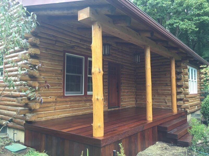 Ipe porch in Setauket, NY - Picture 3543