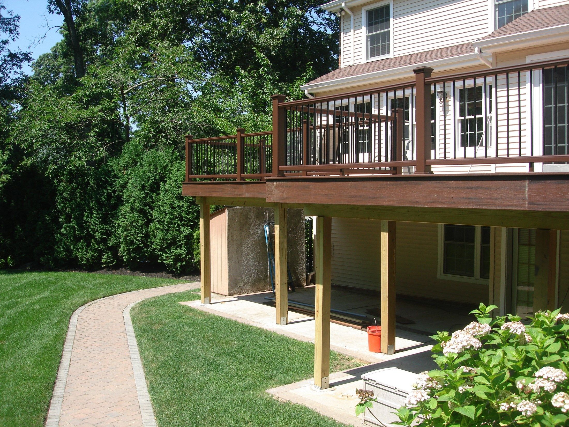 Smithtown Backyard Project - Picture 3581