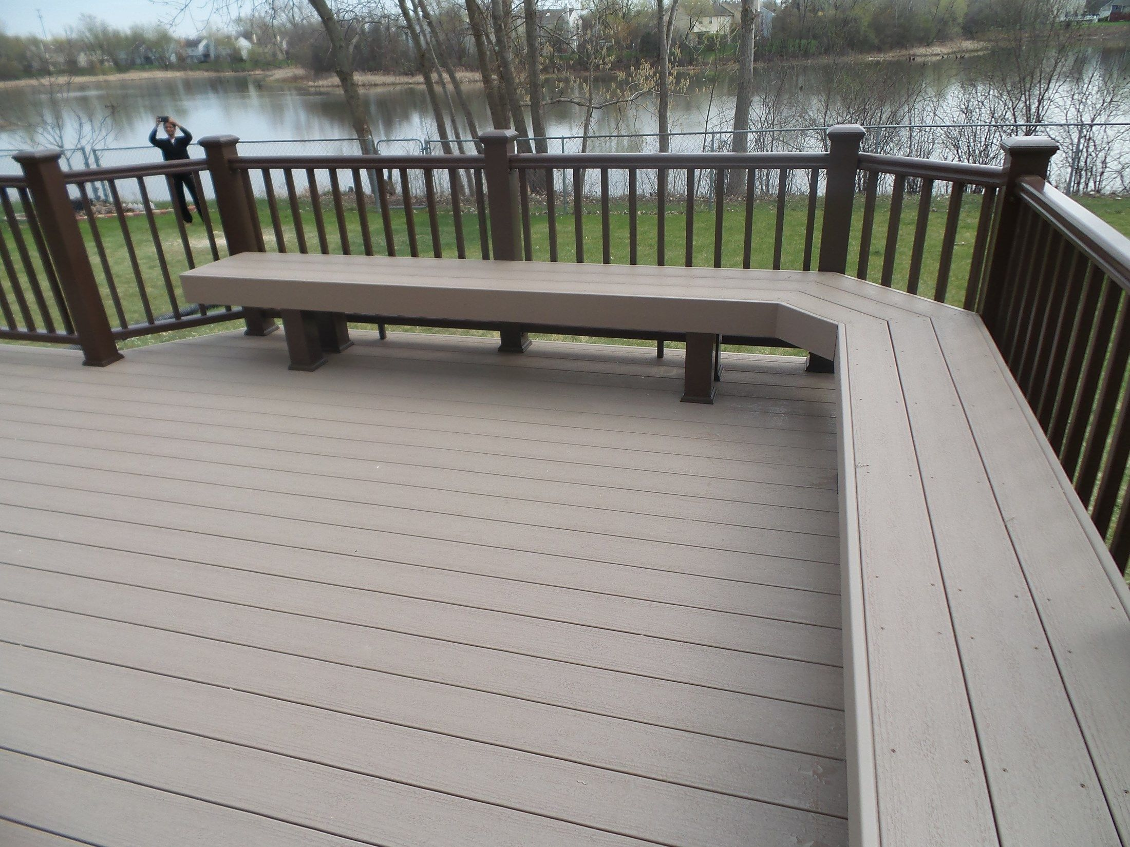 Decks Com Timbertech Deck Picture 3651