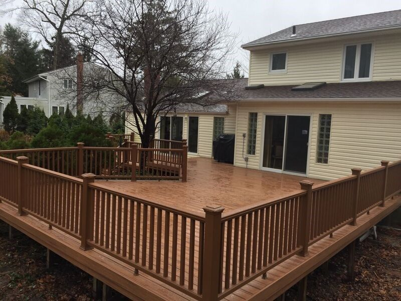 Deck in Commack - Picture 3730