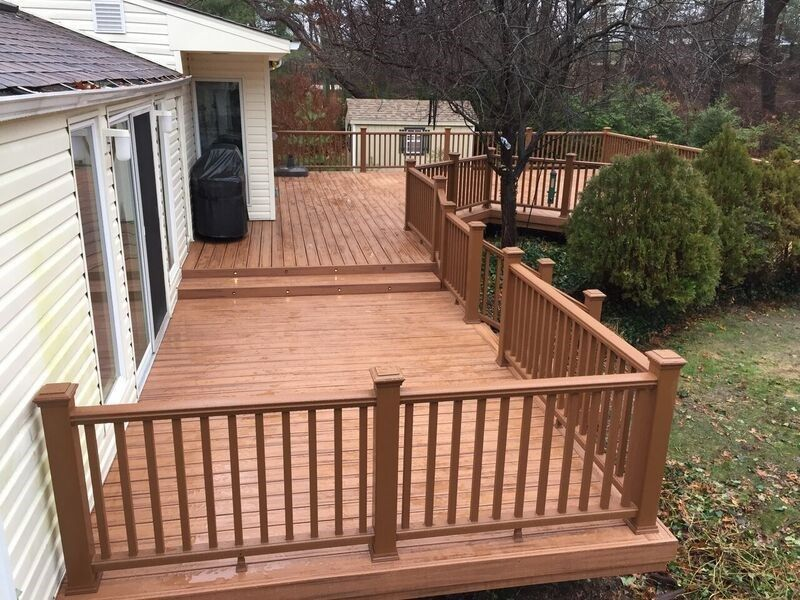 Deck in Commack - Picture 3731