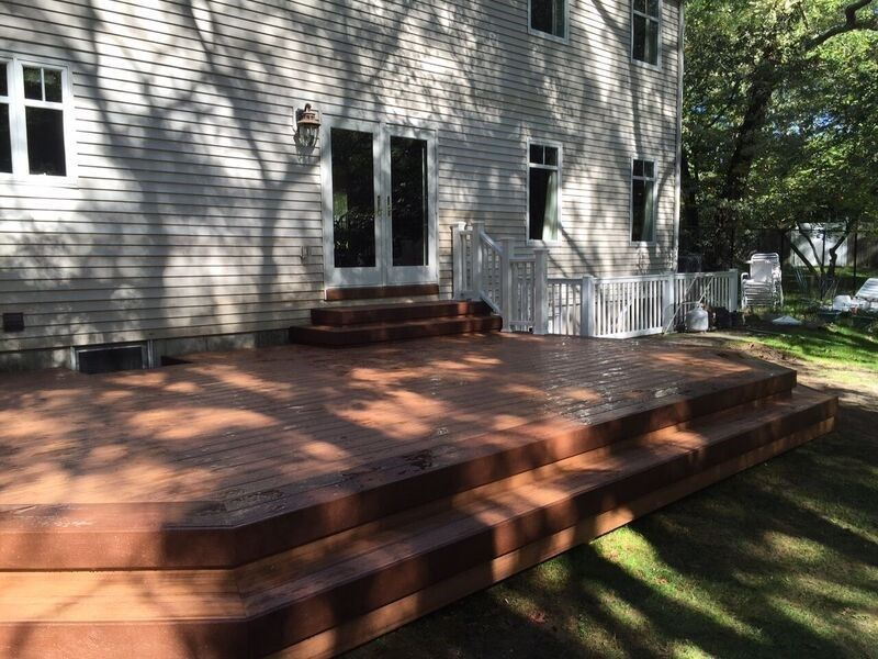 Deck in Farmingville - Picture 3742