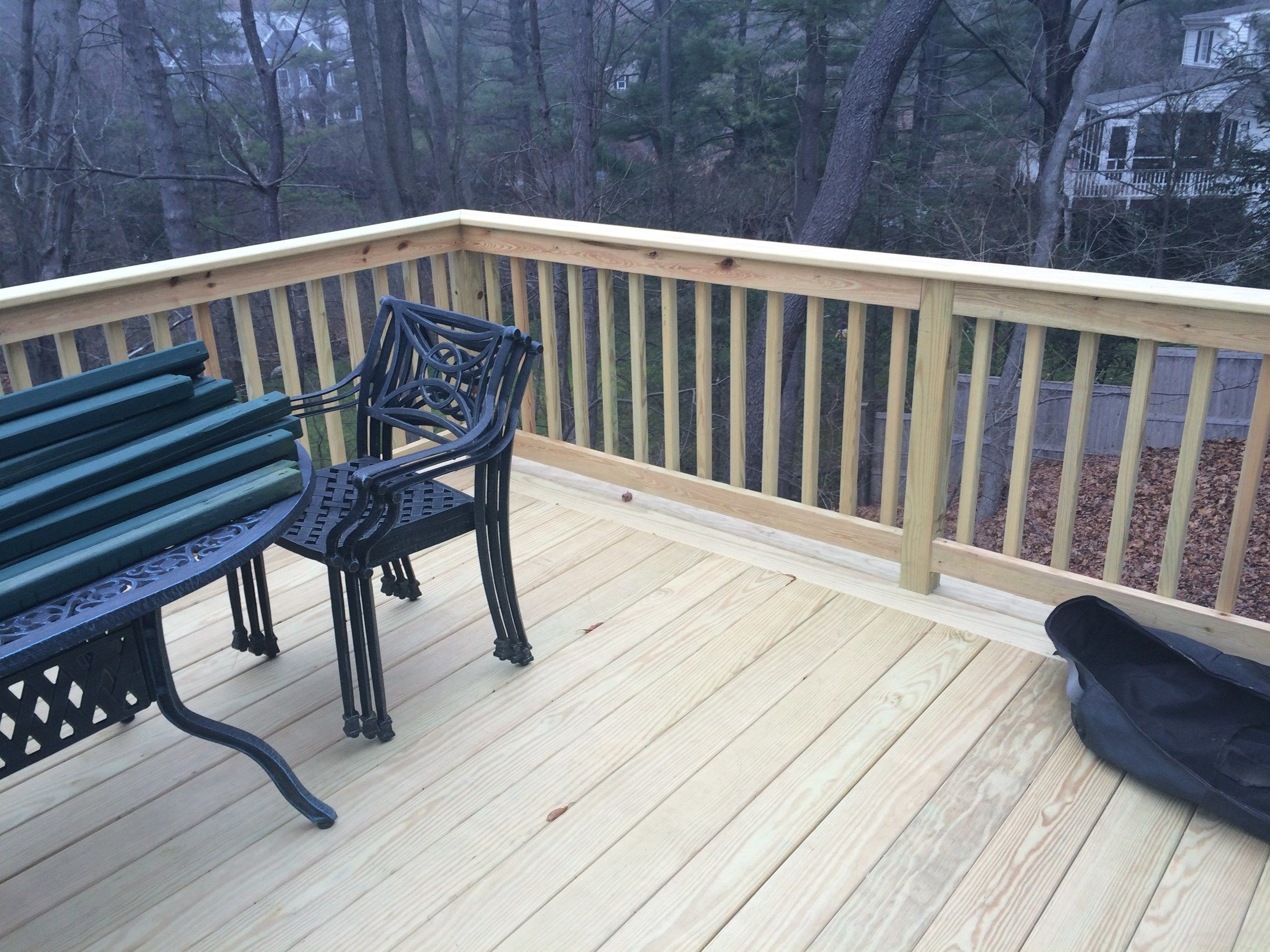 Pressure Treated Deck - Picture 3767