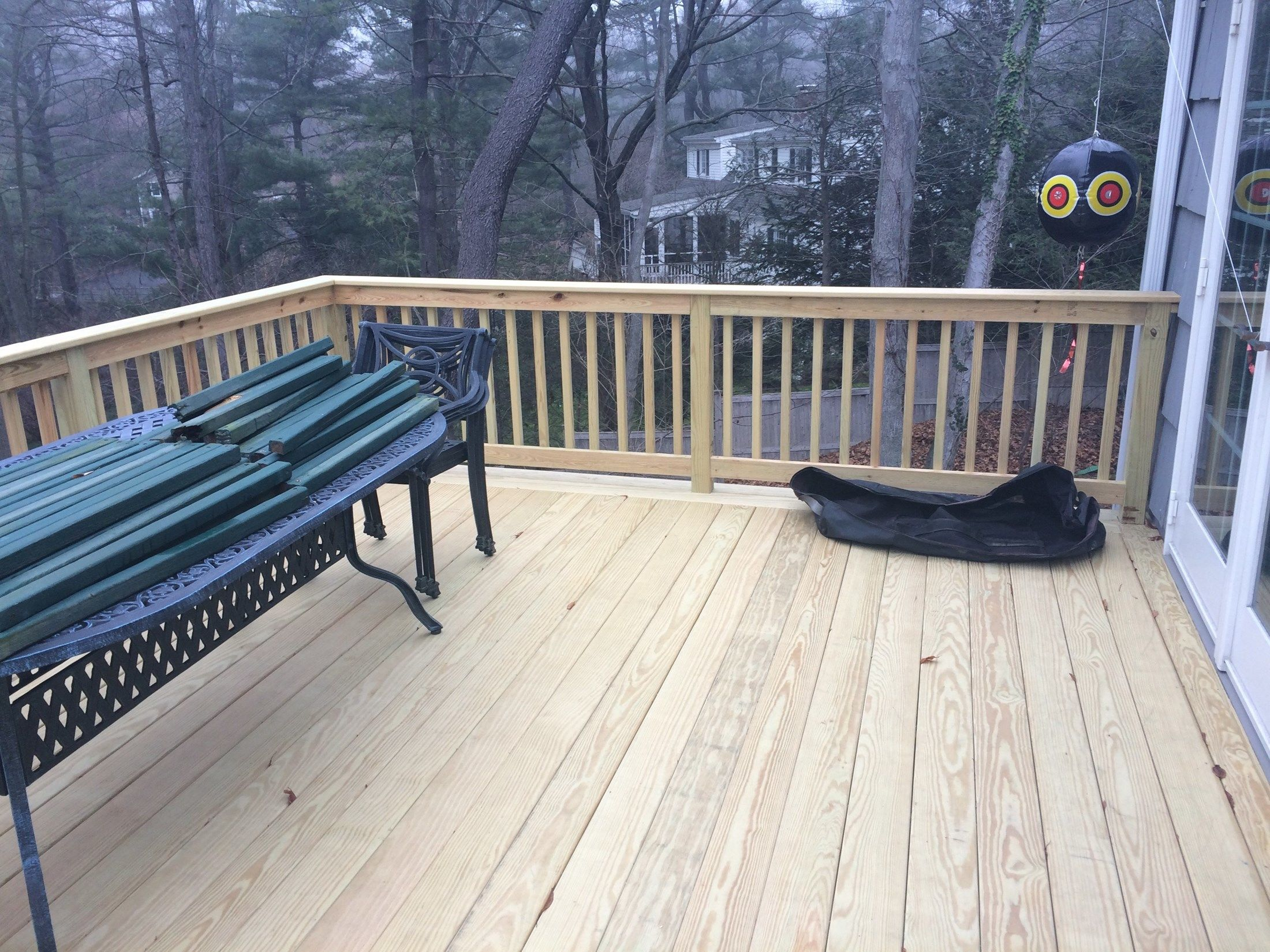 Pressure Treated Deck - Picture 3768