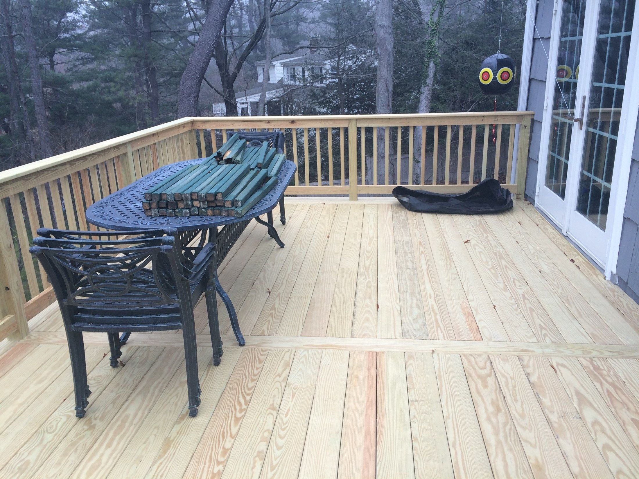 Pressure Treated Deck - Picture 3770