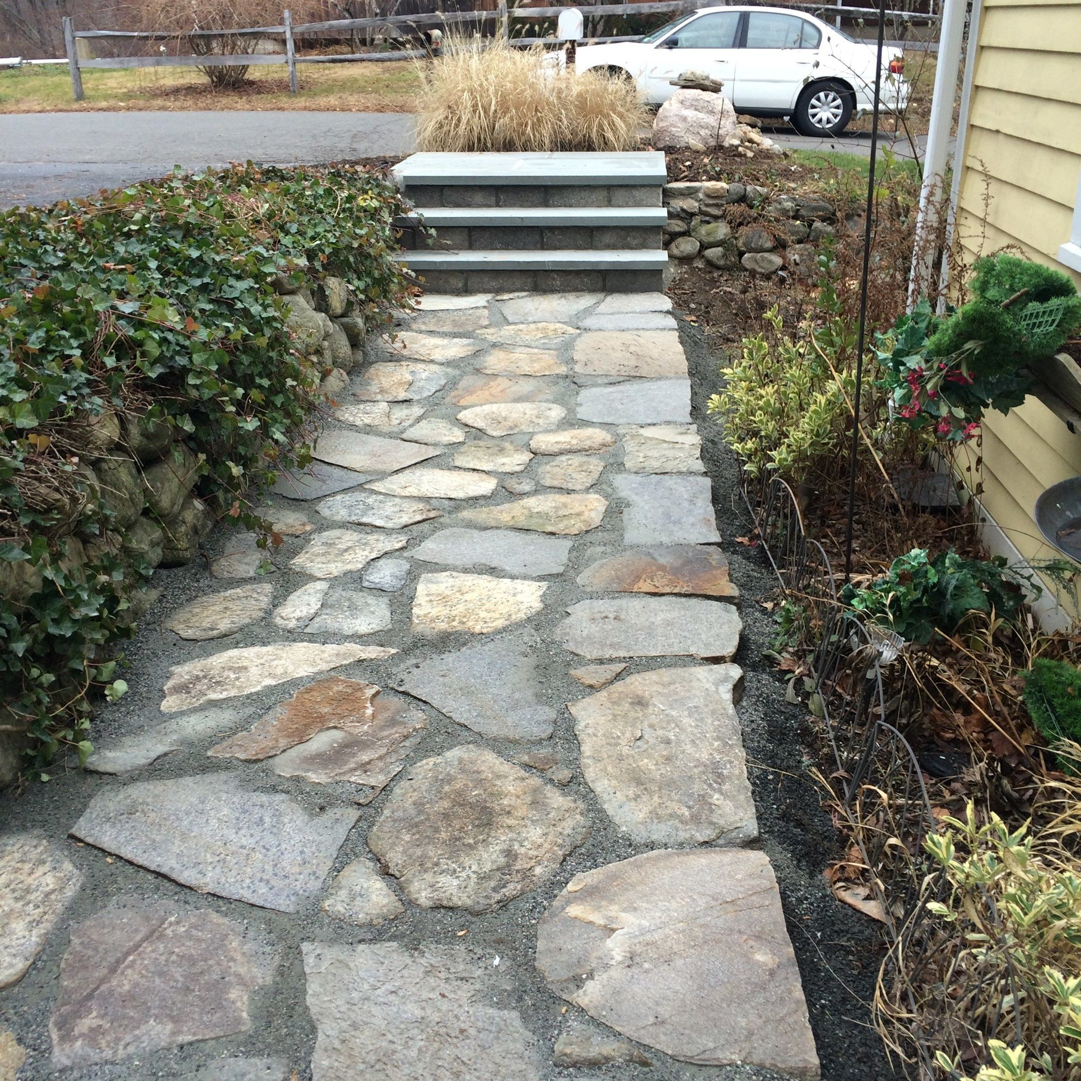Re-pointed Patio Space in Wilton - Picture 3784
