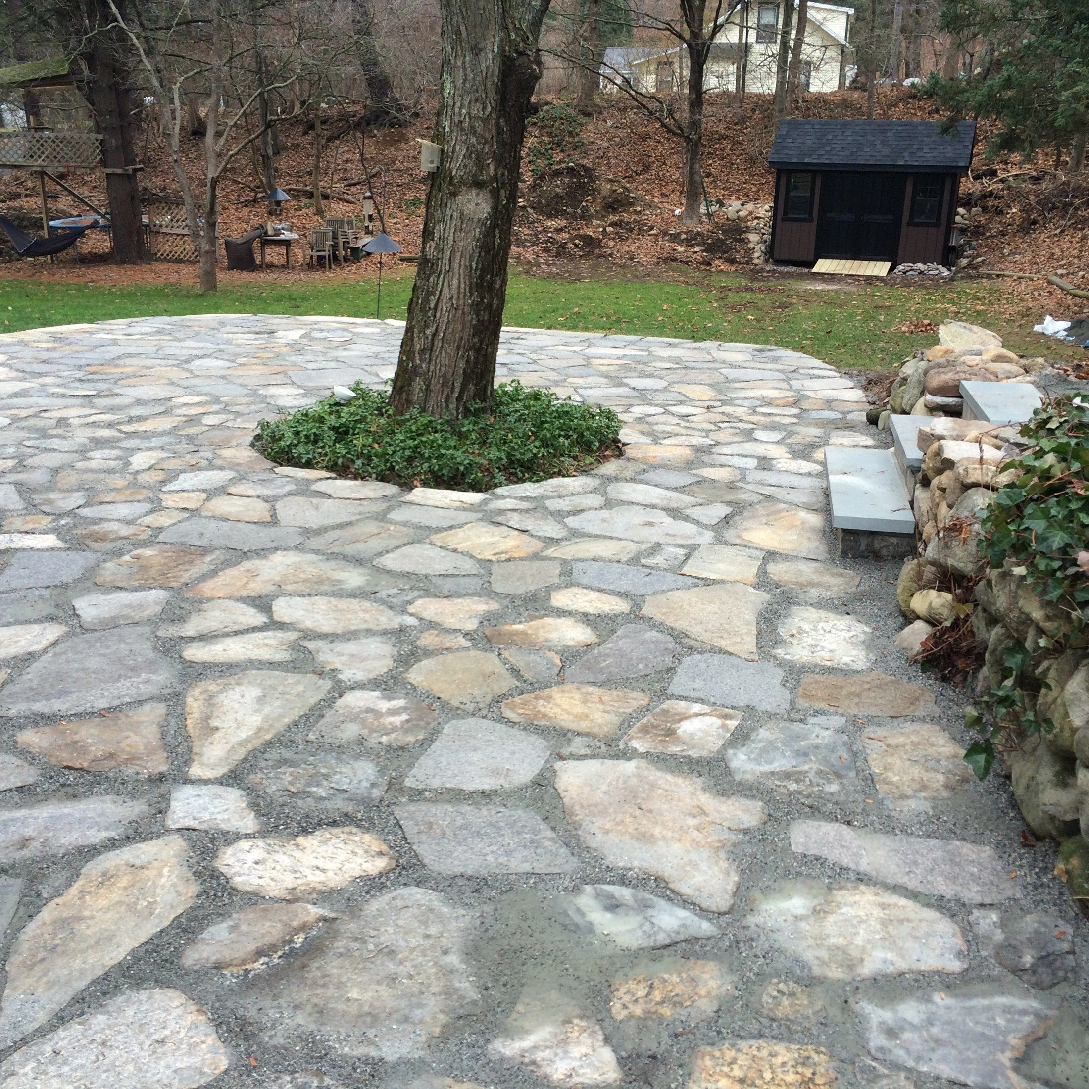 Re-pointed Patio Space in Wilton - Picture 3785