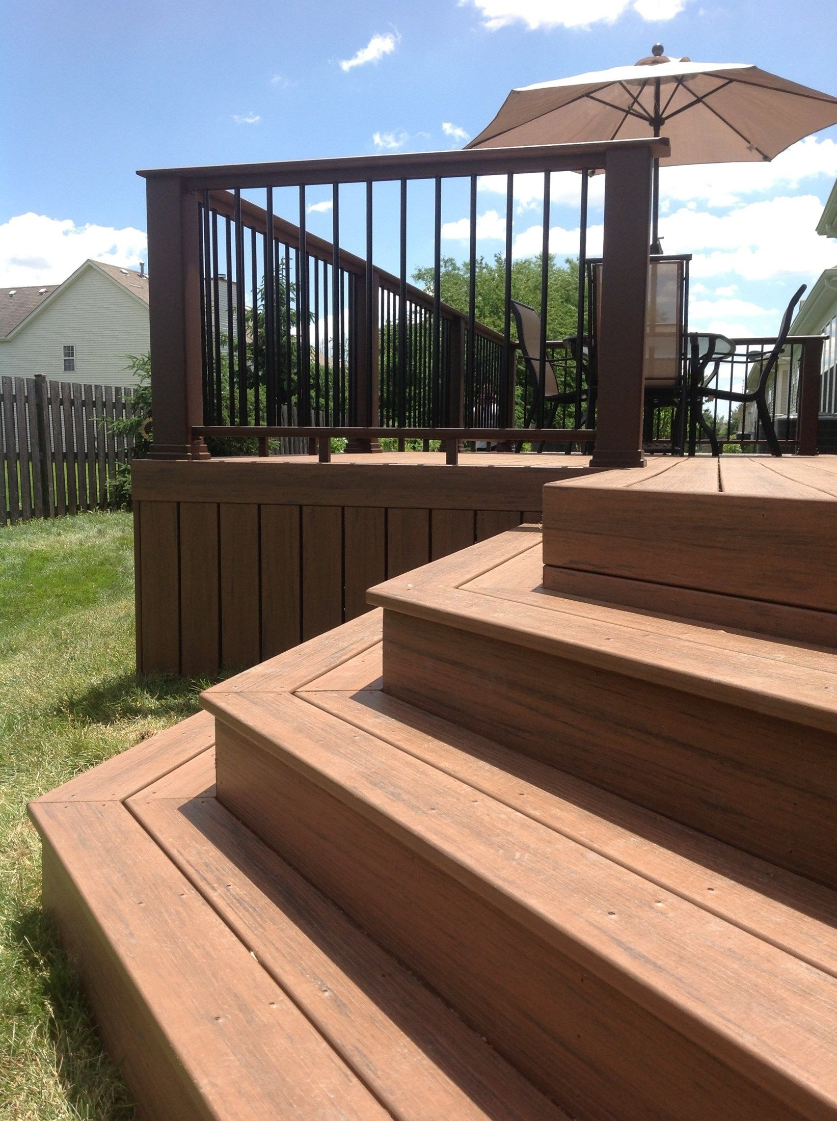 Decks Com Timbertech Deck Picture 3819