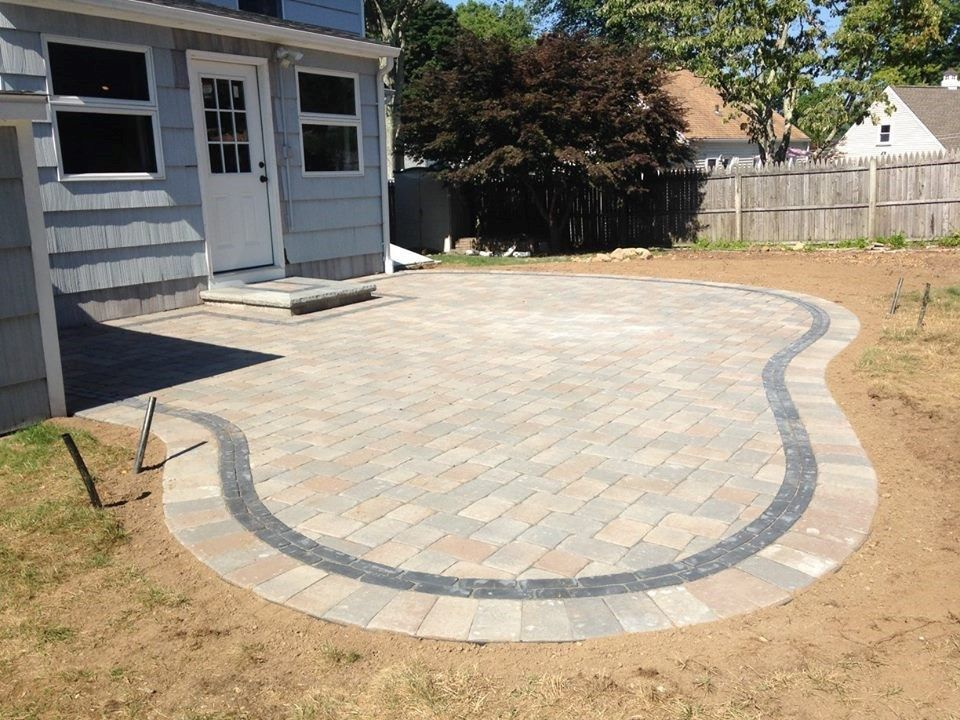 Patio Project in Milford - Picture 3874