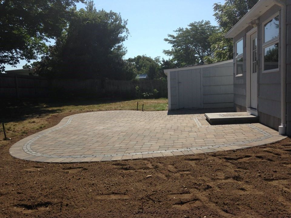 Patio Project in Milford - Picture 3875