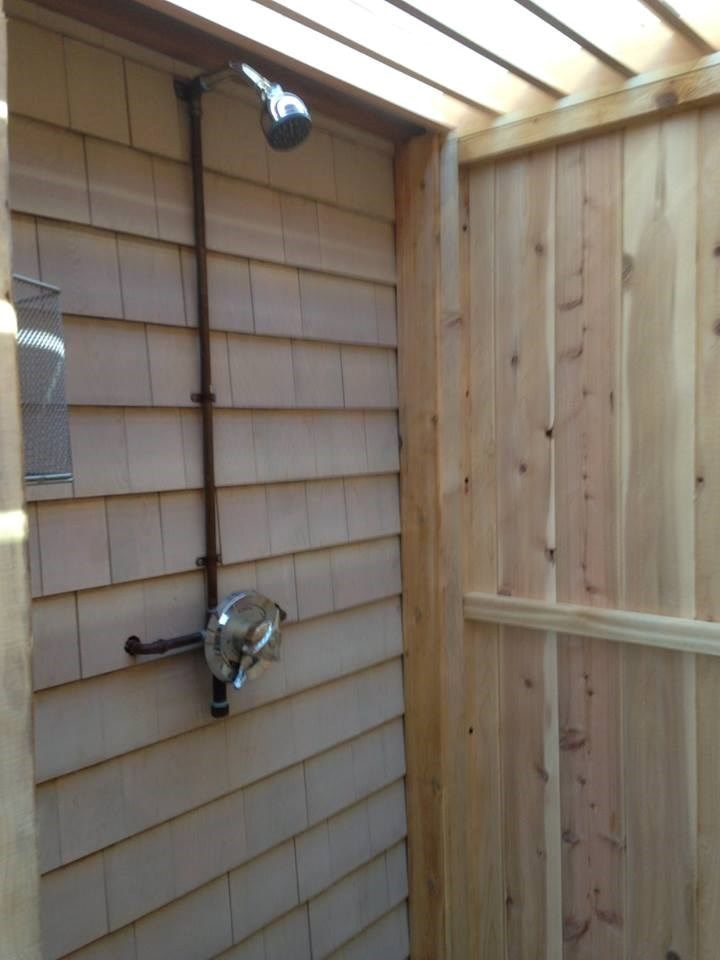 Cool Outdoor Shower - Picture 3884