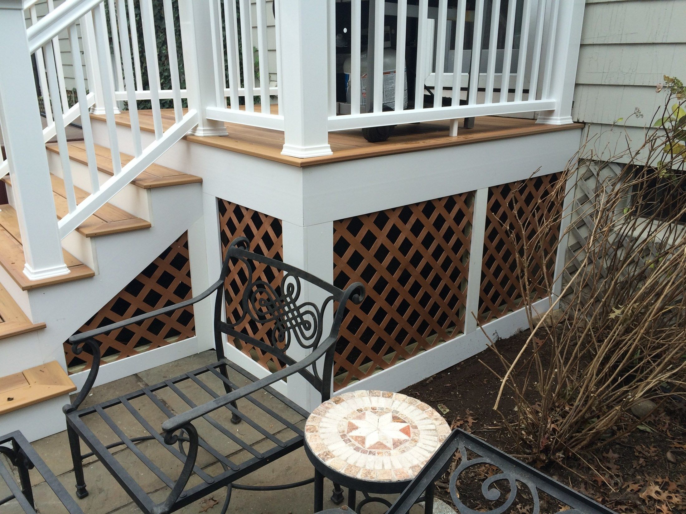 Second Story Deck And Patio Combo