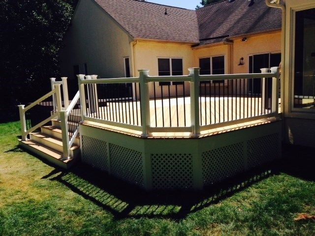 Pressure Treated Deck - Picture 4000