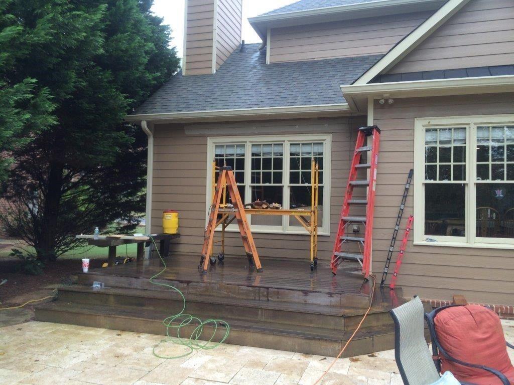 Cedar Pergola Deck - Picture 4016