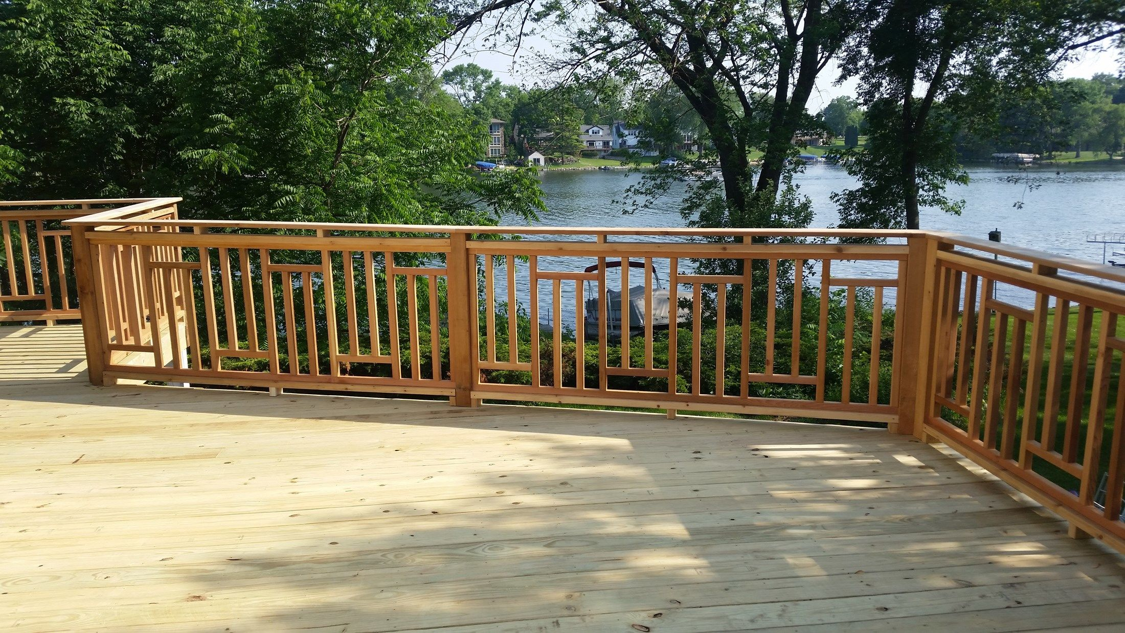 Treated Deck Muskego - Picture 5104