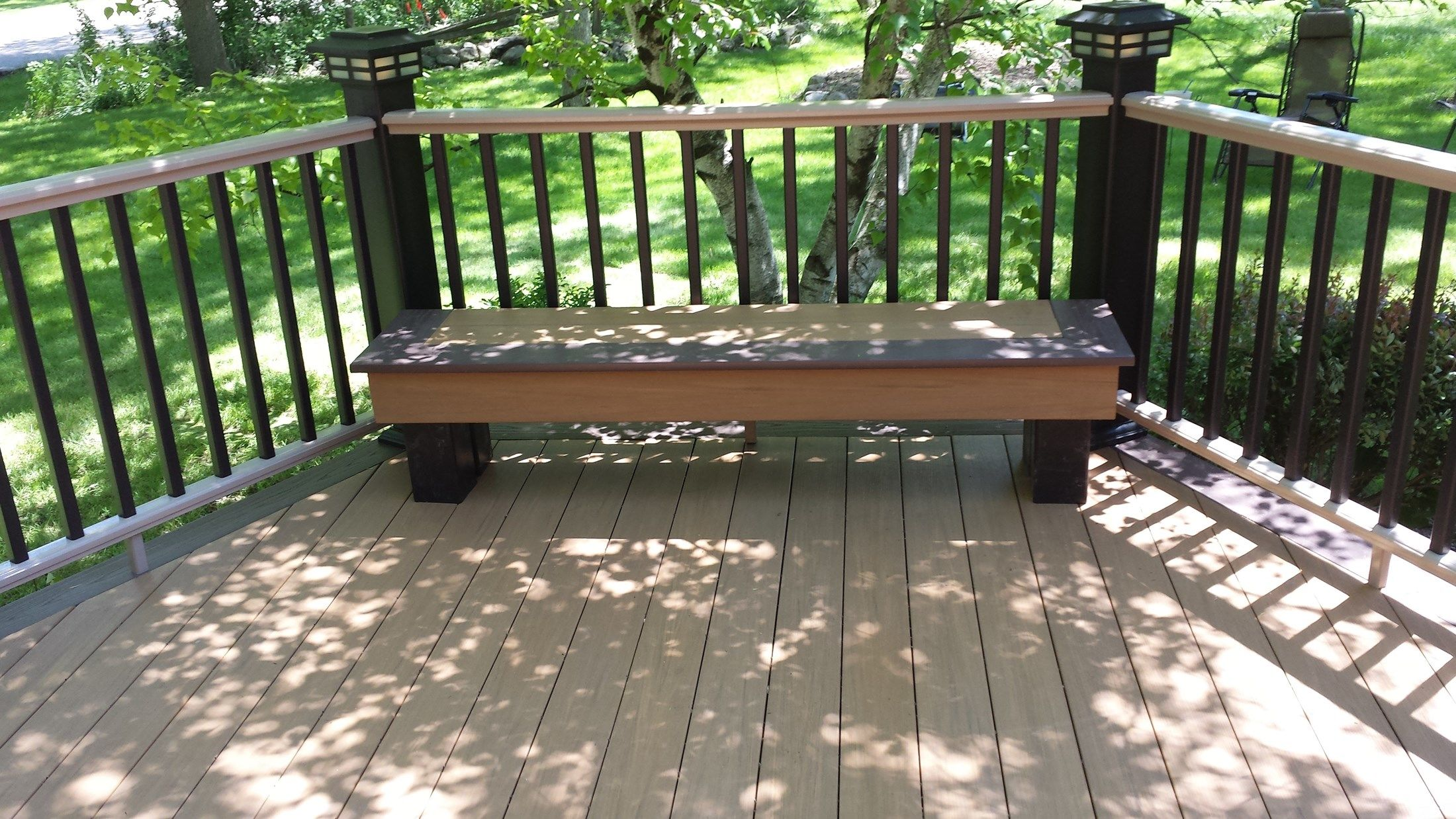 Azek Deck Pewaukee - Picture 5115