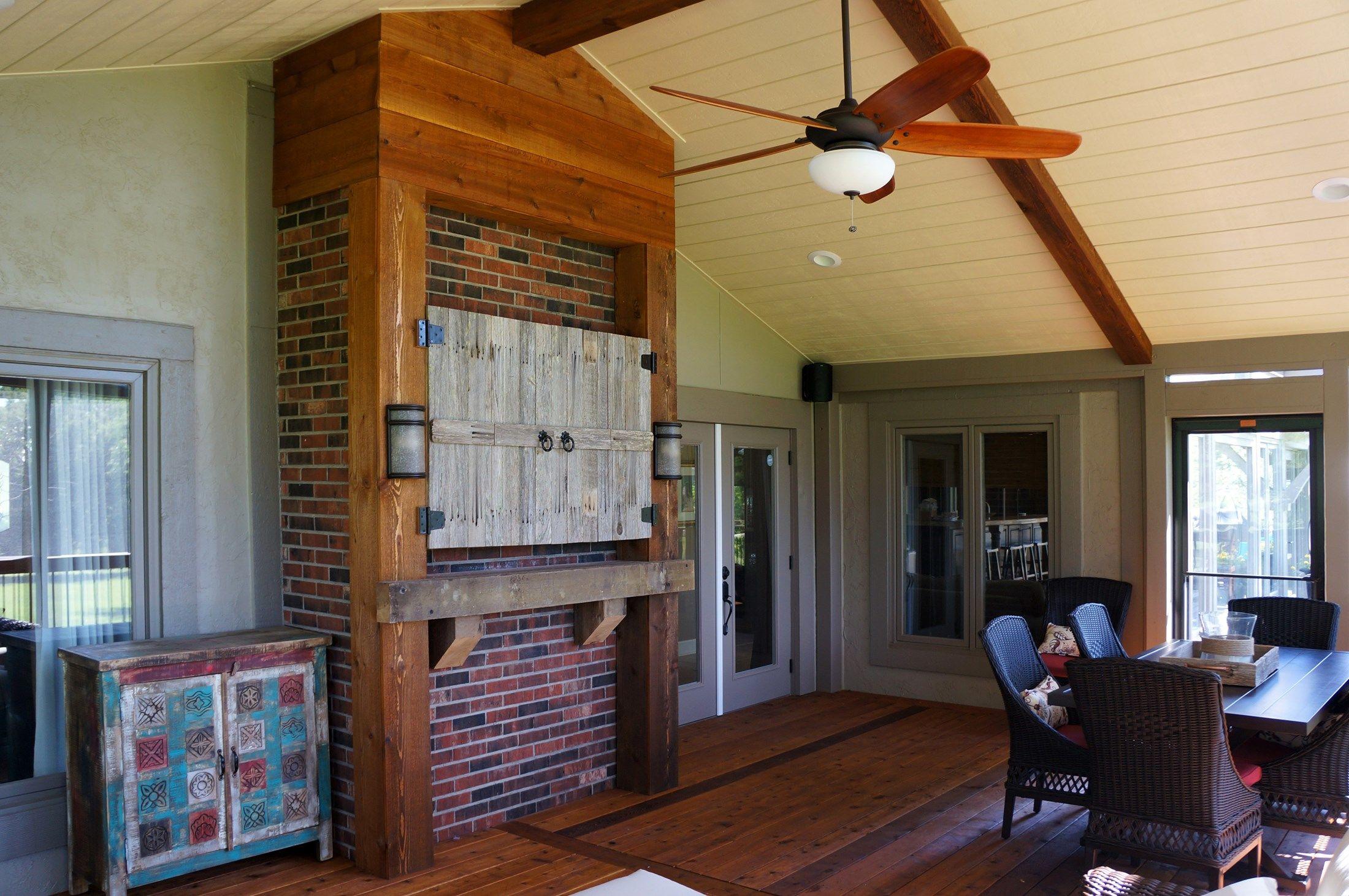 Cedar Screened Porch - Picture 5139
