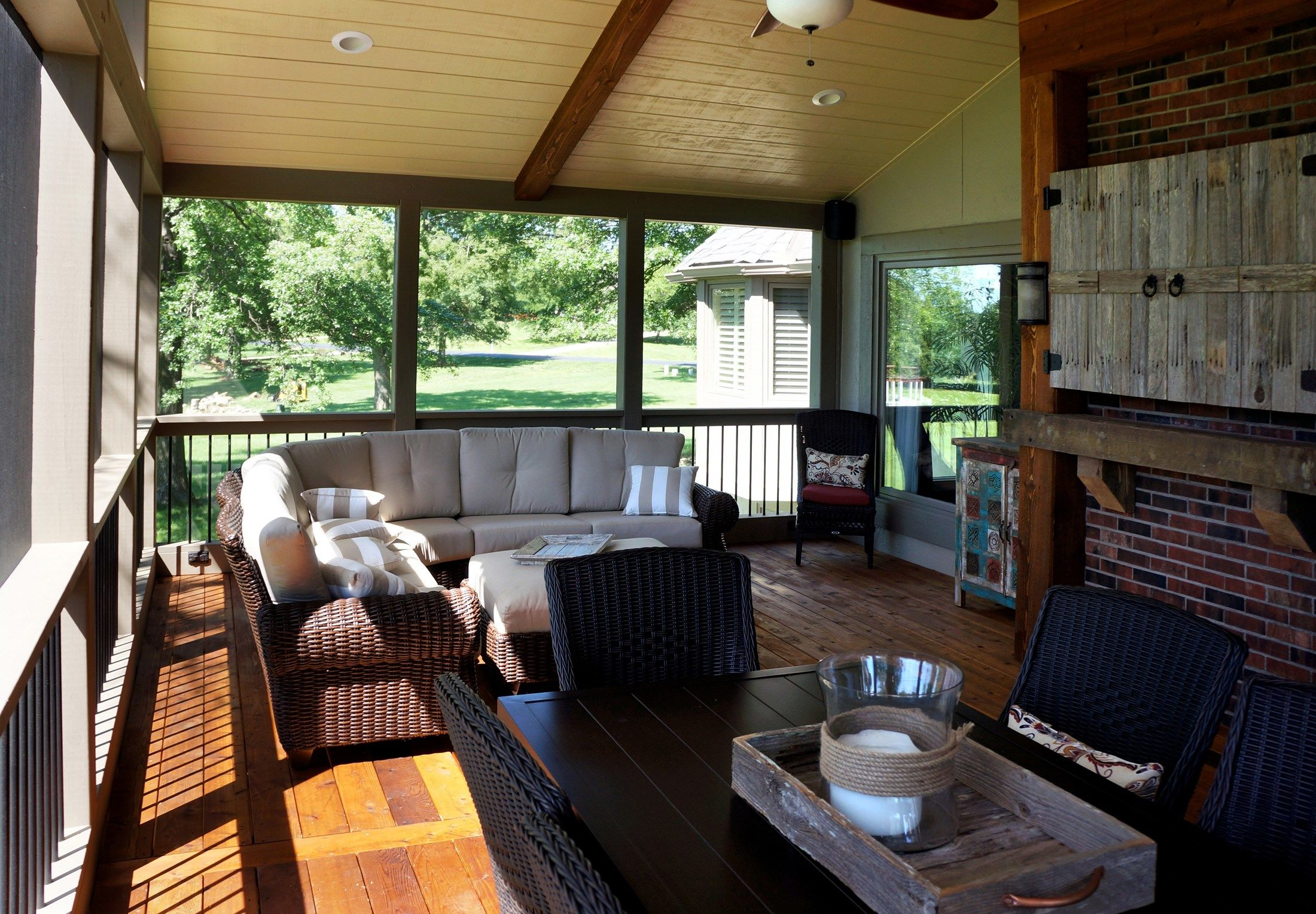 Cedar Screened Porch - Picture 5141