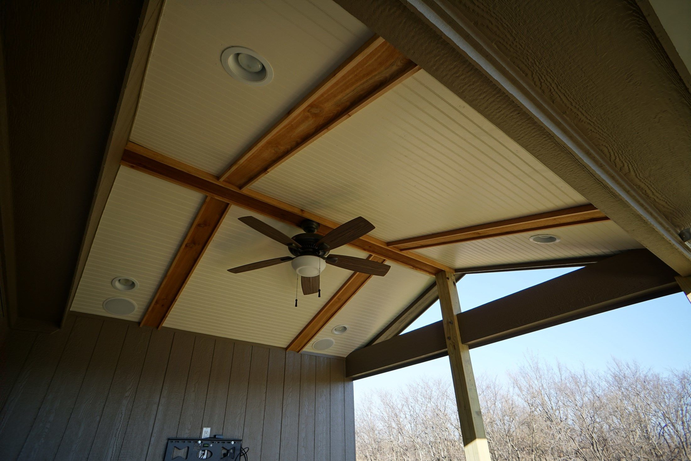 Gable Roof Porch 2 - Picture 5201