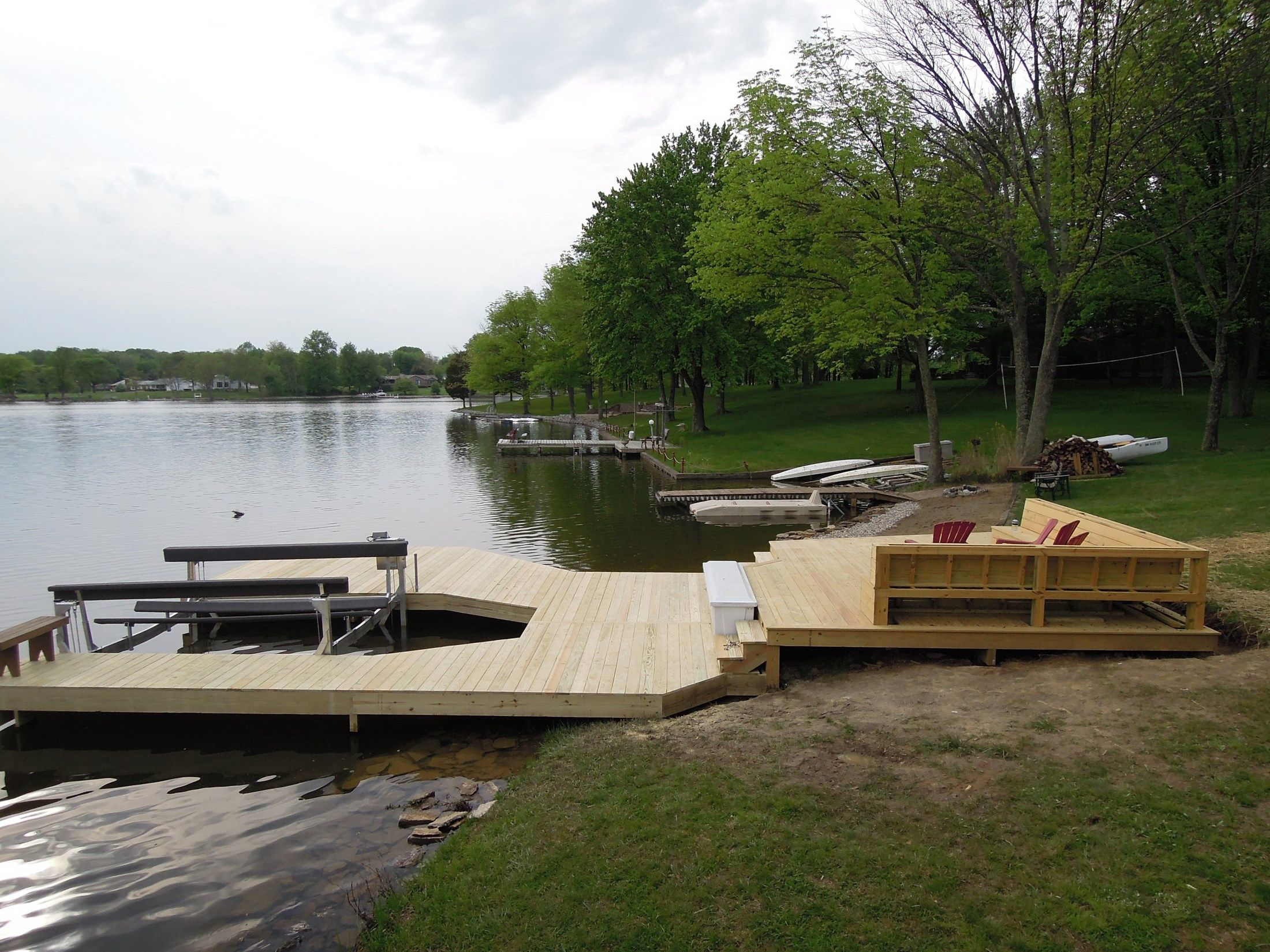 Decks Com Lake Lorelei Dock Picture 6094
